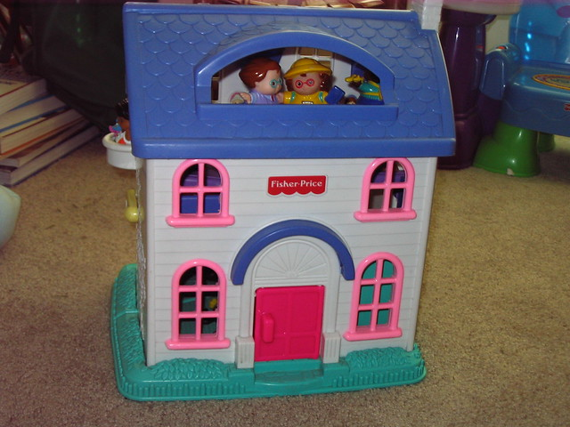 Little People Doll House | Flickr - Photo Sharing!