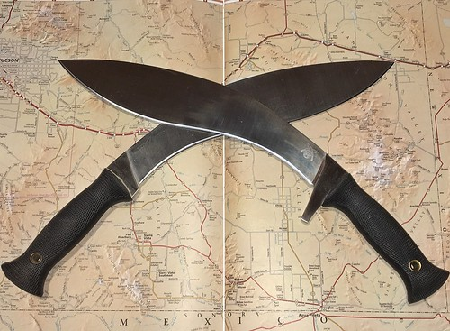 A Pair Of Kukri Knives