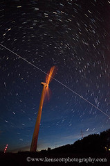 International Space Station ... wind turbine flyby | by Ken Scott