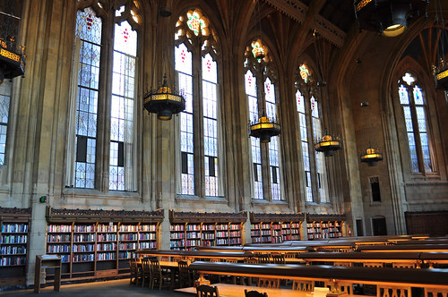 Stained Glass Windows of Suzzallo Library