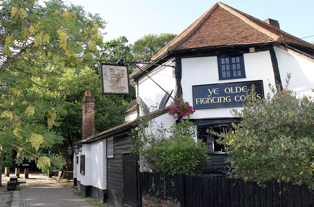 Ye Olde Fighting Cocks Public House, St. Albans