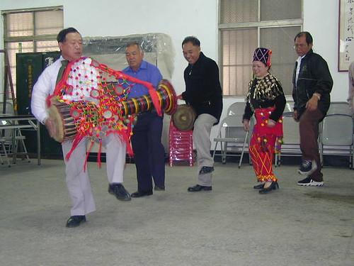 traditional Jingpo dance