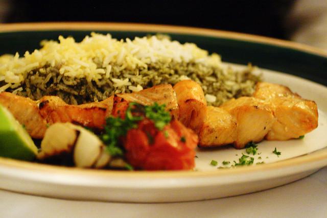 salmon shish kabob | Flickr - Photo Sharing!