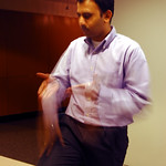 Amol Kan. explaining in Redmond Washington, USA 2005