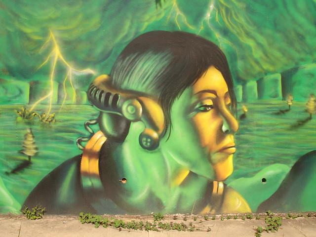 Mural in bayamon Puerto rico