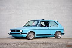 automobile, executive car, volkswagen, vehicle, volkswagen golf mk1, city car, land vehicle, hatchback,