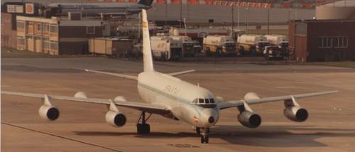 Spantax CV-990 Coronado at London Gatwick Airport