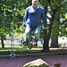 Jumping in the Botanic Gardens by craiglea123