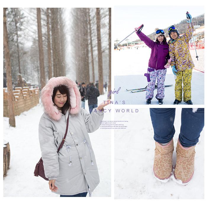 冬天韓國旅遊保暖穿搭