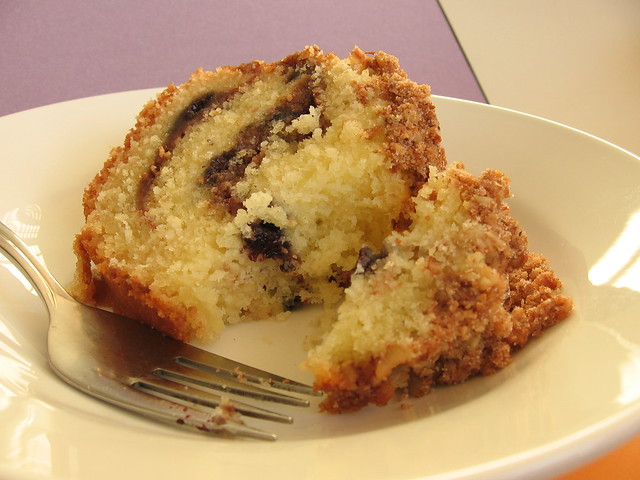 Lemon-Blueberry Sour Cream Coffee Cake | Flickr - Photo Sharing!