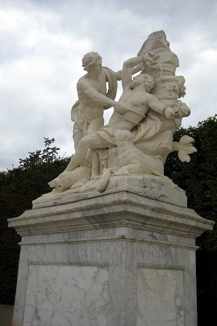 Versailles jardins du ch teau de versailles demi lune for Bd du jardin botanique 50 bruxelles