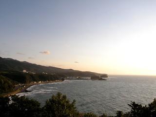 view ウトロ from プユニ岬