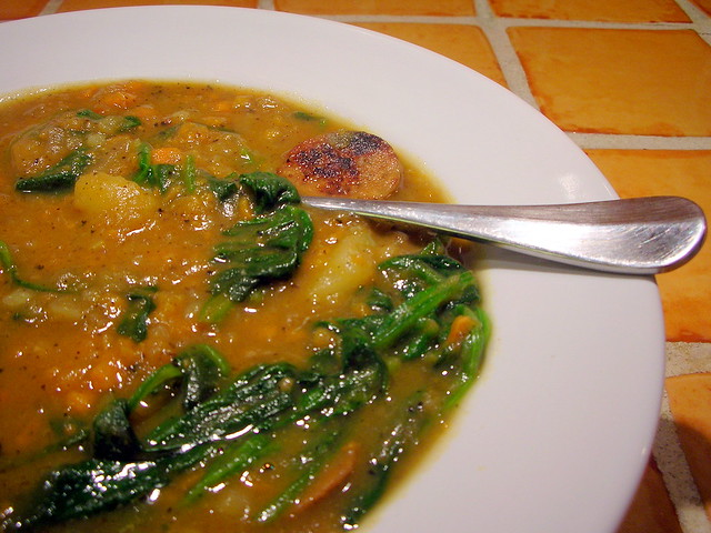 Sweet Potato and Sausage Soup | Flickr - Photo Sharing!
