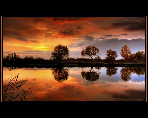 autumn sunset sky lake reflection fall clouds landscape bravo hungary quality canon350d hdr waterscape naturesfinest blueribbonwinner eow supershot flickrsbest mywinners abigfave anawesomeshot colorphotoaward impressedbeauty superbmasterpiece diamondclassphotographer flickrdiamond thegoldendreams goldstaraward magicdonkeysbest