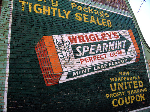 Clinton, Missouri - Old fashioned sign painting