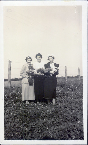 Longview, Texas -  three women flowers
