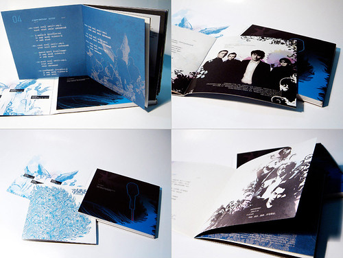Blue Garden CD book