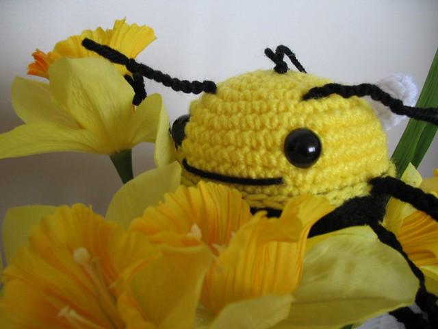 Amigurumi Bee Girl : Amigurumi Bumble Bee Flickr - Photo Sharing!