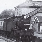 Takeley Railway Station 1958