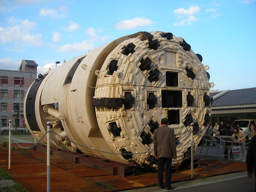 TBM (Tunnel Boring Machine) Taiwan by ricky manurung