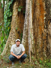 Fadir - environmental engineer for APLV in the Cerro Musul protected area, one of his favorite places