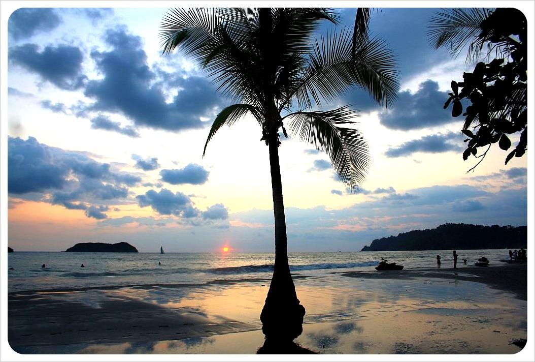 Sunset costa Rica