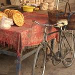 Xinjiang Bread and a Bike - Kashgar, China