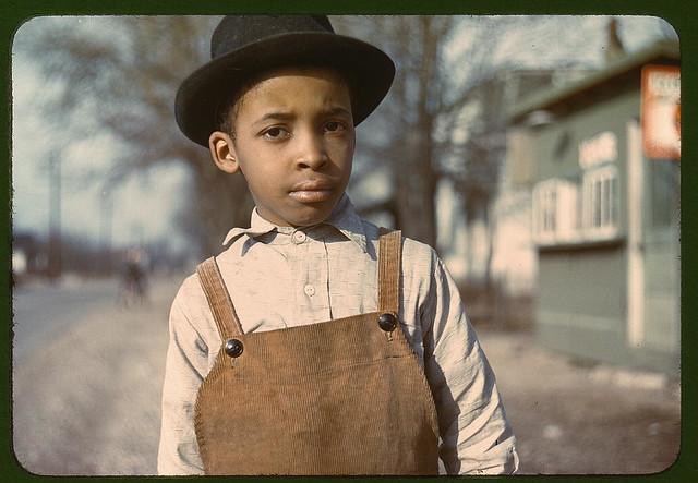 Negro boy near Cincinnati, Ohio  (LOC)