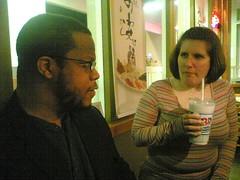 Strike beard and ice cream shake