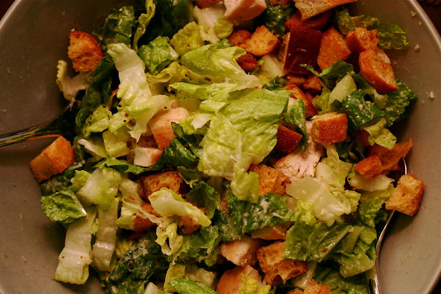 Салат цезарь с сухариками и курицей рецепт пошагово