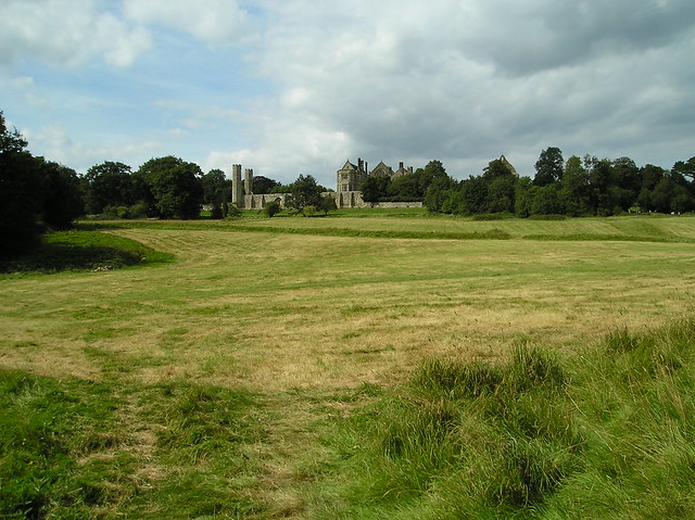 Field of the Battle of Hastings 1066, Battle Abbey, East Sussex.