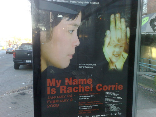My Name is Rachel Corrie - 250120081187