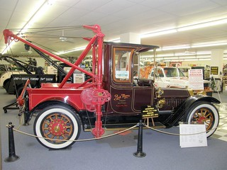 1913 Locomobile with the Homes 4-Ton Wrecker @ International Towing and Recovery Museum, Chattanooga, TN