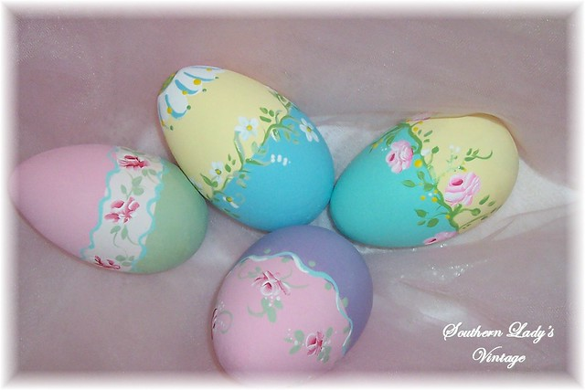 Hand Painted Easter Egg Designs