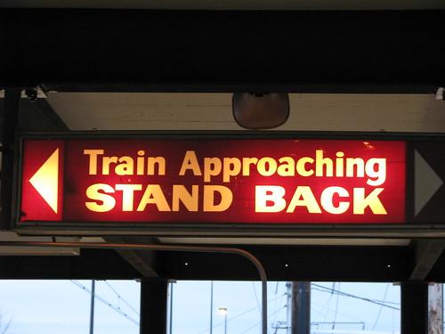 Amtrak Sign in New Carrollton