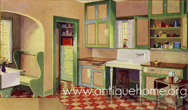 1930 kitchen gordon van tine catalog flickr photo for Kitchen ideas for 1920s house