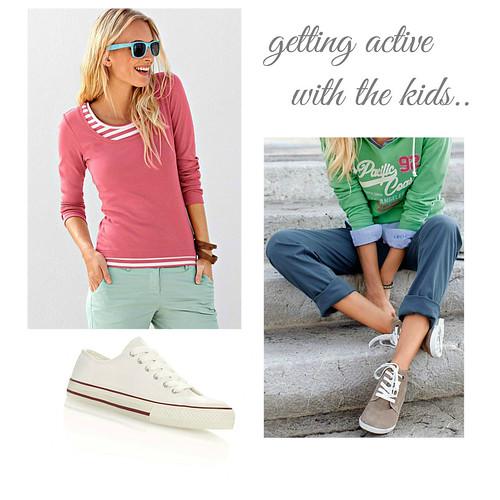 active women's fashion
