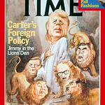 President Sadat on the time cover for the third time