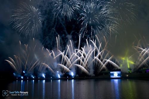 Jeddah 28th Festival Fireworks 4