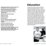 Brighton Unemployed Centre Families Project - Annual Report 2007