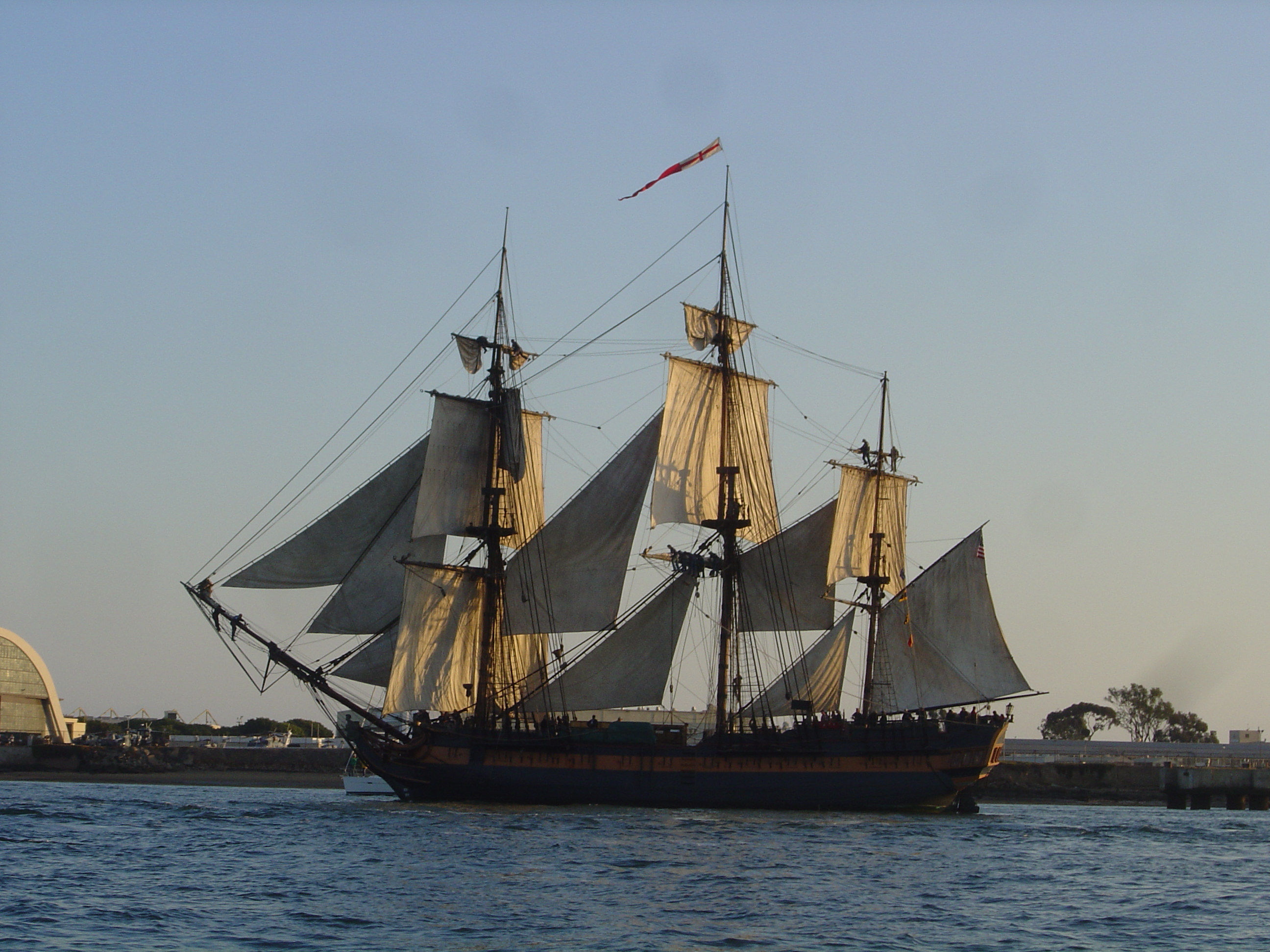 photo Tall Ship Day HMS Surprise from the movie Master