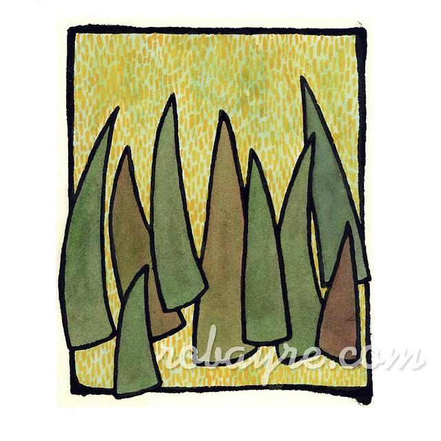 layers grass