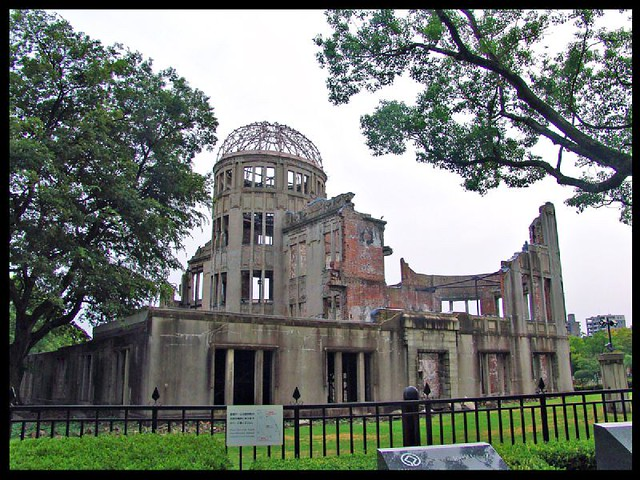 Hiroshima: the Bomb A dome 2