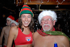 018 Santa Speedo Run 2007