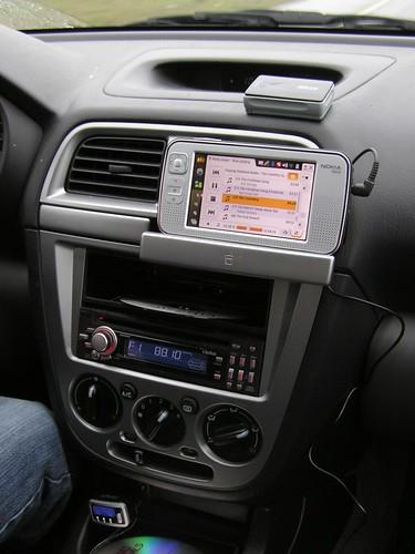 N800 GPS Jukebox
