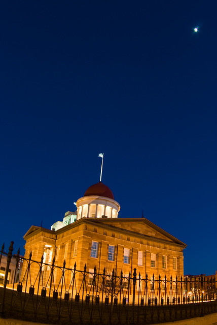Old State Capitol Twilight