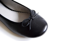 outdoor shoe(0.0), textile(0.0), footwear(1.0), shoe(1.0), leather(1.0), ballet flat(1.0),