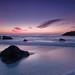 Marshall's Beach Sunset, San Francisco by Tyler Westcott
