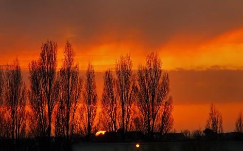 3-14537 Sky in Le Havre France 日落 선셋