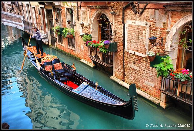 Venecia (Italia). Góndola.